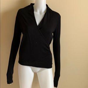Ann Taylor Wrap Front Sweater, XS